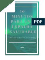 10 Minutos Para Una Espalda Saludable