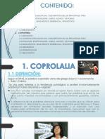Coprolalia y Coprofemia