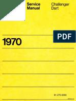 1970 Challenger Dart Service Manual