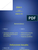 APSA DSM v y Disfunciones Sexuales
