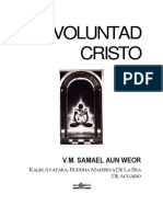 Voluntad Cristo