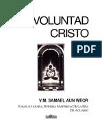 Voluntad Cristo
