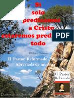 Richard Baxter El Pastor Reformado Diarios de Avivamientos