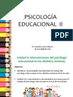 El Psicologo Educacional e Inclusion