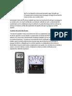 Funcionamiento de Variac, Wattmetro y Osciloscopio