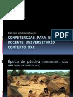 COMPETENCIAS PARA DOCENTE UNIVERSITARIO