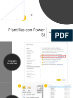 Plantillas Power BI JSON