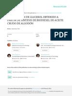 43- Purificación Gli Aceite Crudo de Algodón