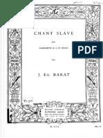 Chant Slave, Barat