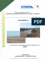 construccion del ponton km 1217+000 y accesos  volumen  VI CIRA