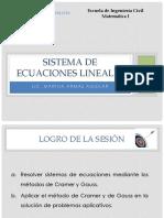 De Ecuaciones Lineales - 2015