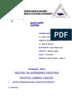 Pae de Neonatos Pediatria Geramn Urquidi
