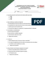 Evaluación Diagnóstica Sociedad y Cultura