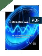 Teoría MateAvanzada 2018 Cuat2