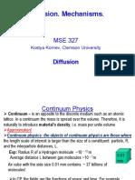Lecture 2 - Diffusion