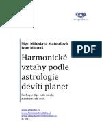 Harmonické Vztahy Podle A9P E Book