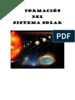 La Formación Del Sistema Solar