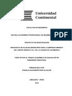 Proyecto de Investigación - Ronald Ruiz Alcalde