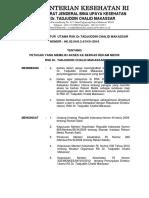 SK Kebijakan Akses Petugas Ke RM