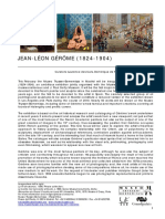 Nota de Prensa GEROME Ingles