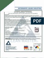 MSDS Detergente Liquido Industrial.pdf