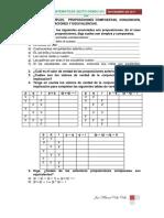 Taller Proposiciones Simples y Compuestas