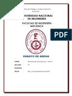 Informe de Ensayo de Arenas 90%