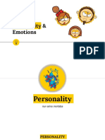 Personality and Emotion