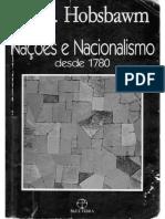 HOBSBAWM, Eric J. Nações e Nacionalismo Desde 1780[2190]