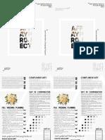 Flyer Design Minimalist