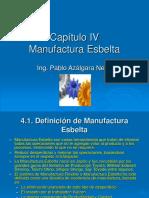 DOP Cap. 04 La Manufactura Esbelta