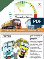 Conduccion Economica volquete actros 3344k