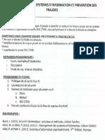 (II) UE 2.6.1 Sécurité des systèmes d'information et prévention des fraudes (I.A.E Bordeaux M 2 DFCGAI)