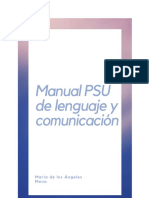 Manual psu lenguaje
