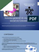 SISTEMA GENERAL DE SEGURIDAD SOCIAL EN COLOMBIA  CARTILLA  SENA 2018