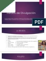 Presentación de Alexadra Cartagena