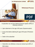 Withdrawal Process for Government Subscriber Demo
