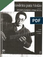Violão - Fernando Presta - Música Brasileira Para Violão