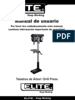 Manual Taladros de Arbol