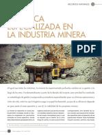 La industria Minera
