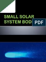 Small Solar System Bodies
