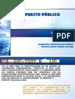 Presupuesto Publico Aracelly