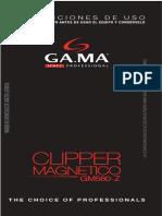 Manual de Instrucciones Gm560z