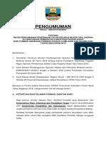 Pengumuman Bersama Terbaru CPNSD Pesisir Barat (1)