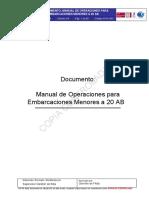 Manual de Operaciones Para Embarcaciones Menores 20 AB_20141119