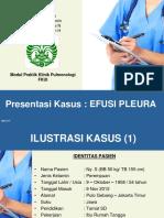 Presentasi Kasus Efusi Pleura