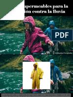 Atahualpa Fernández - Uso de Impermeables Para La Protección Contra La Lluvia