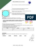 Cuadernillo de Habilidades Matematicas Primero