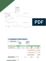 Excel de Diseño de Viga Predimensionamietoooooo