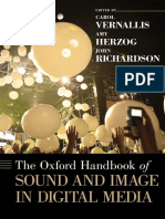 (Oxford Handbooks) Carol Vernallis, Amy Herzog, John Richardson-The Oxford Handbook of Sound and Image in Digital Media-Oxford University Press (2013)